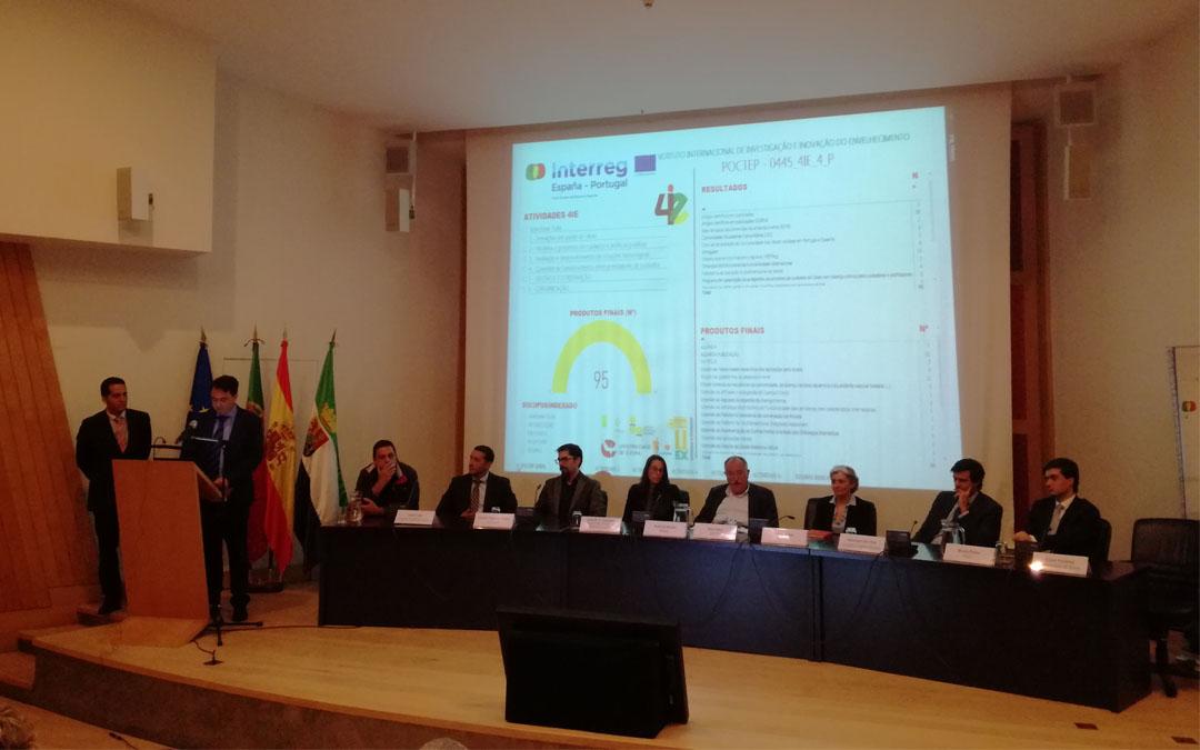 El proyecto 4IE muestra sus avances en Évora