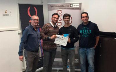 Ganadores del IV Hackathon OpenData Cáceres