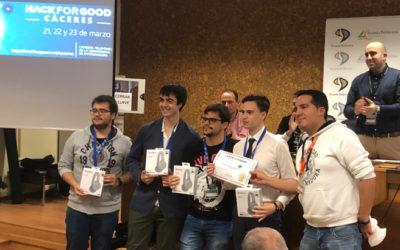 Premio 4ie en el HackForGood