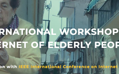 Se aproxima el deadline del 'International Workshop on Internet of Elderly People'