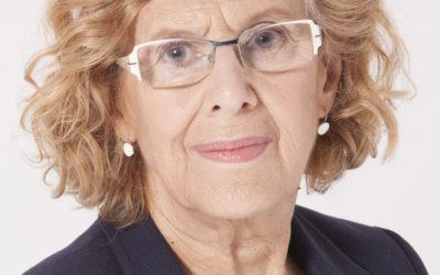 Dña Manuela Carmena participará en el  programa de clausura del proyecto 4IE el 6 de noviembre