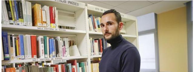 """David Conde Caballero:  """"Premio Arturo Berea de investigación"""""""