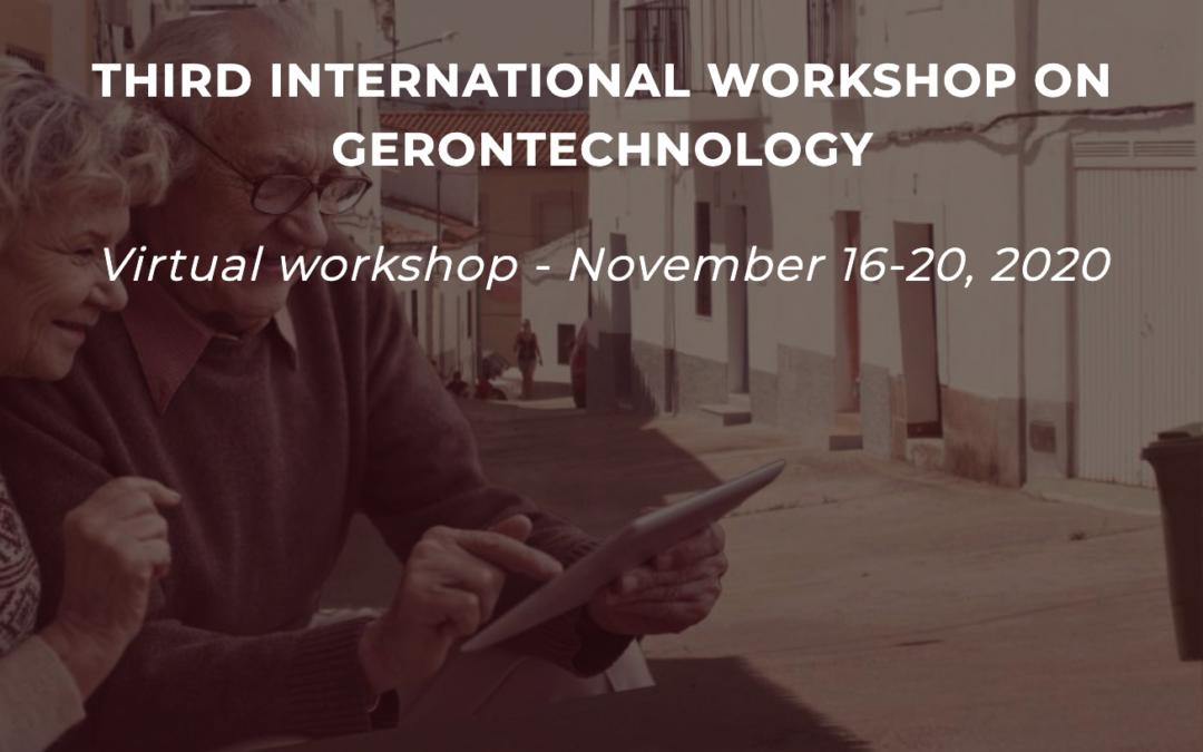 Clausura del «III Workshop Internacional en Gerontecnología»