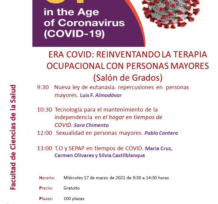 «Era COVID: Reinventando la terapia ocupacional con personas mayores»