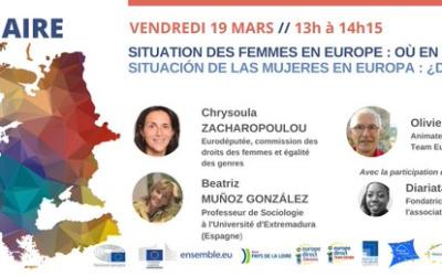 «Situación de las mujeres en Europa: ¿Dónde estamos?»