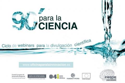 «90′ para la ciencia: Webinars para la divulgación científica»