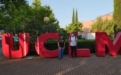 Javier Romero y Jaime Alvarado, nuevos investigadores del laboratorio